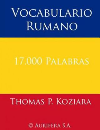 Carte Vocabulario Rumano Thomas P Koziara