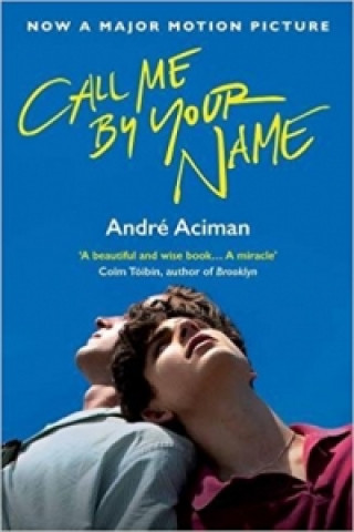 Carte Call Me By Your Name André Aciman