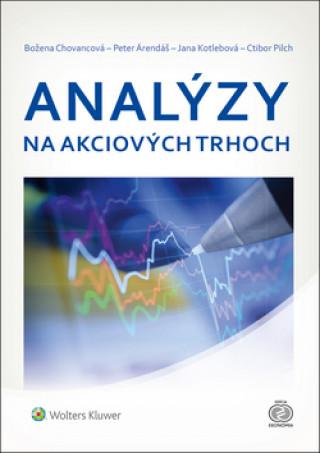 Kniha Analýzy na akciových trhoch Božena Chovancová