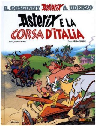 Carte Asterix e la corsa d'Italia Didier Conrad