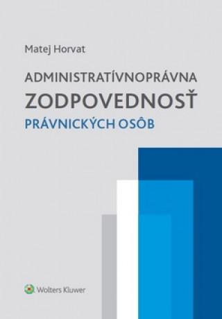 Administratívnoprávna zodpovednosť právnických osôb