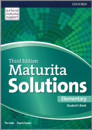Maturita Solutions 3rd Edition Elementary Student's Book