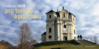 Kalendář 2018 pro turisty a poutníky pražskou arcidiecézí - 14ti denní stolní