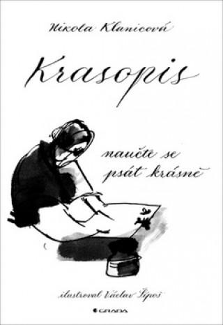 Kniha Krasopis Nikola Klanicová