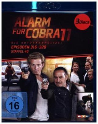 Alarm für Cobra 11. Staffel.40, 3 Blu-ray