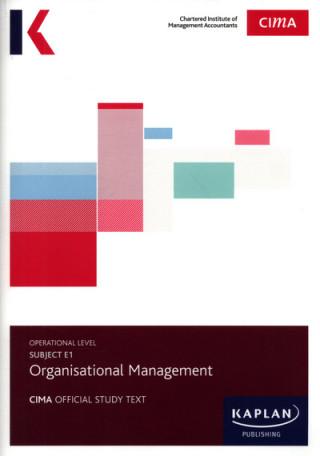 E1 OPERATIONAL MANAGEMENT - STUDY TEXT
