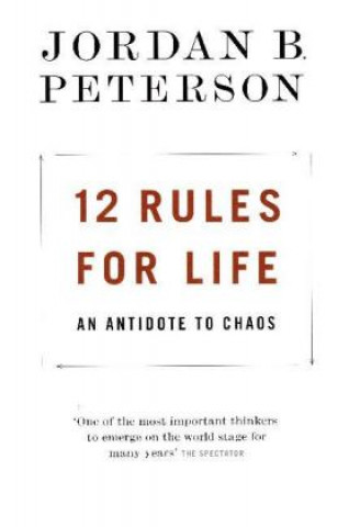 Carte 12 Rules for Life Jordan B. Peterson