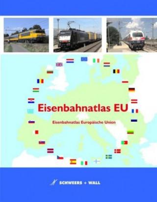 Carte Eisenbahnatlas EU