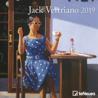 2019 JACK VETTRIANO MINI GRID CALENDAR