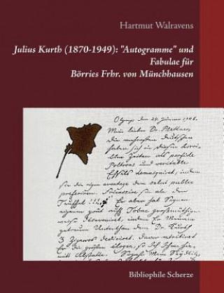 Julius Kurth (1870-1949):