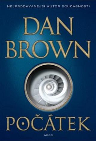 Kniha Počátek Dan Brown