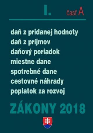 Zákony 2018 I. časť A