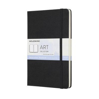 Moleskine Black Watercolour Notebook Large