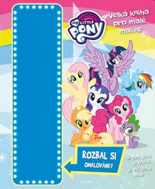 My Little Pony Velká kniha pro malé malíře