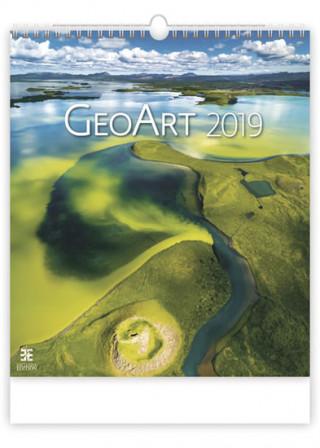 Geo Art - nástěnný kalendář 2019