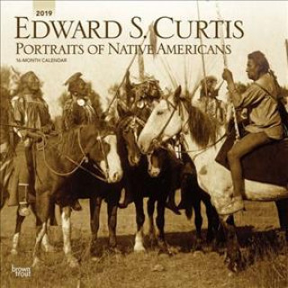 Curtis, Edward S Portraits of Native Americans 2019 Square Wall Calendar