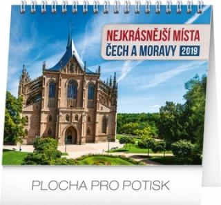 Nejkrásnější místa Čech- stolní kalendář 2019