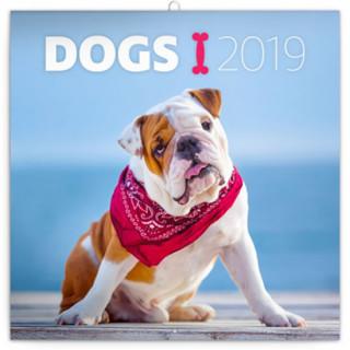 Poznámkový kalendář Psi 2019