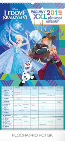 Rodinný plánovací XXL- nástěnný kalendář 2019
