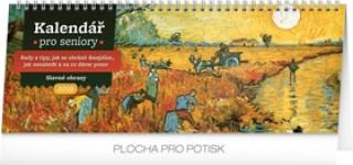 Kalendář pro seniory - stolní kalendář 2019