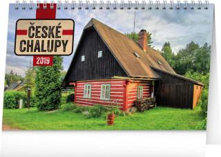 České chalupy 2019, 23,1- stolní kalendář 2019