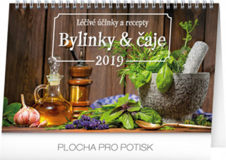 Bylinky a čaje 2019 - stolní kalendář 2019