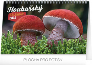 Stolní houbařský kalendář 2019
