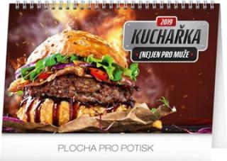 Kuchařka (ne)jen pro muž- stolní kalendář 2019