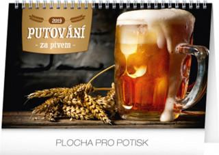 Putování za pivem 2019,- stolní kalendář 2019