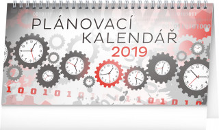 Plánovací 2019, 25 x 12,- stolní kalendář 2019