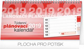 Plánovací řádkový 2019 - stolní kalendář 2019