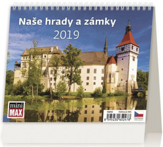 Minimax Naše hrady a zámky - stolní kalendář 2019