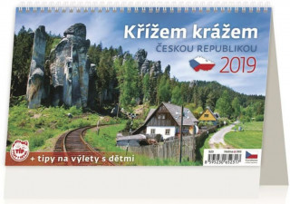 Křížem krážem Českou republikou - stolní kalendář 2019