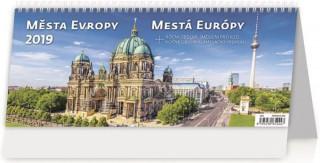 Města Evropy - stolní kalendář 2019