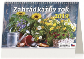 Záhradkářův rok - stolní kalendář 2019