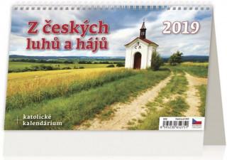 Z českých luhů a hájů - stolní kalendář 2019