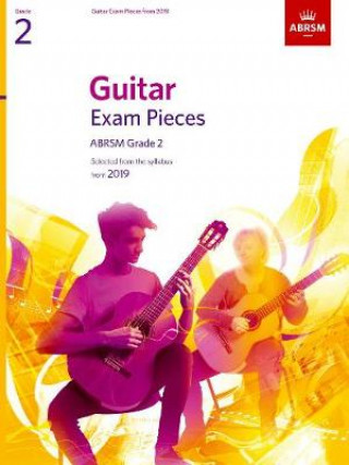 Guitar Exam Pieces from 2019, ABRSM Grade 2