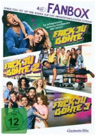 Fack Ju Göhte 1-3 - Fan Box, 4 DVDs
