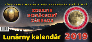 Lunárny kalendár 2019 - stolný kalendár