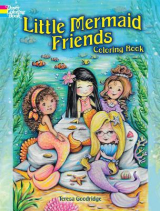 Little Mermaid Friends Coloring Book