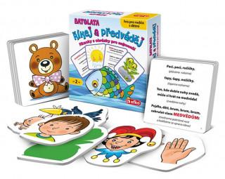 Říkej a předváděj BATOLATA: Říkanky s obrázky pro nejmenší, hra pro rodiče s dětmi