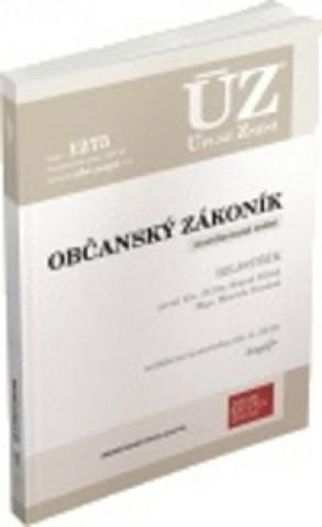 ÚZ 1275 Občanský zákoník
