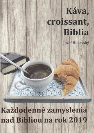 Káva, croissant, Biblia