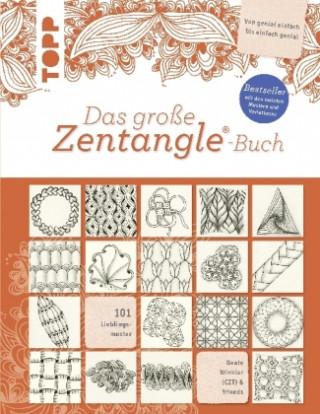 Carte Das große Zentangle®-Buch Beate Winkler