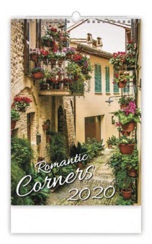 Romantic Corners - nástěnný kalendář 2020