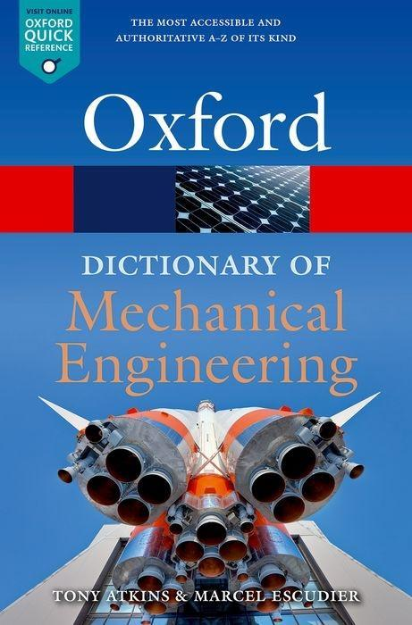 Carte Dictionary of Mechanical Engineering Escudier