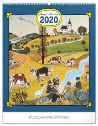 Nástěnný kalendář Josef Lada – Rok na vsi 2020