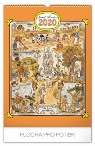 Nástěnný kalendář Josef Lada – Měsíce 2020