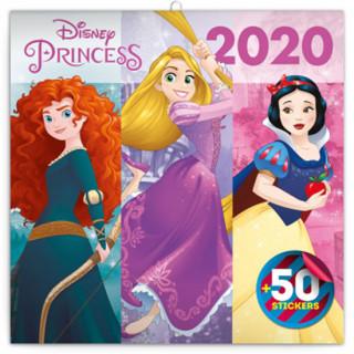 Poznámkový kalendář Princezny 2020