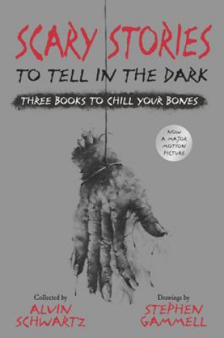 Scary Stories to Tell in the Dark: Three Books to Chill Your Bones: All 3 Scary Stories Books with the Original Art!
